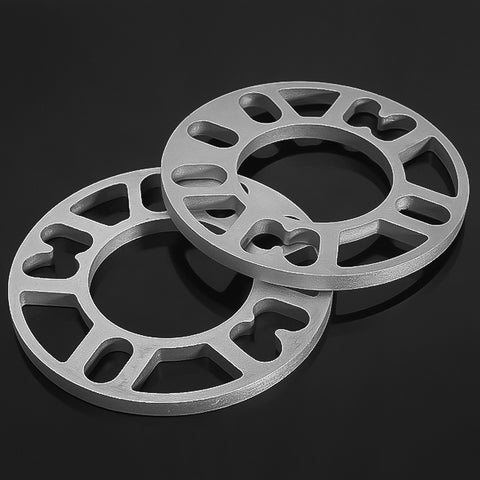 Alloy Aluminum Wheel Spacers Shims Plate 4/5 Stud Fit