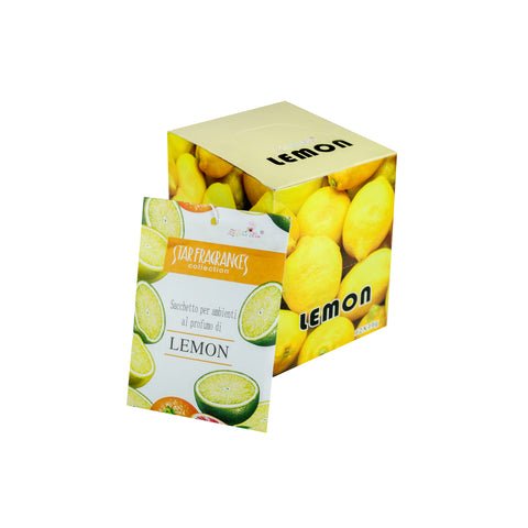 Lemon Ambient Perfume Paper Scent Sachet for Home, Office, CR, Cabinets, Car and more