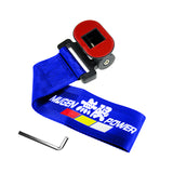Universal ABS Bumper Car Decorative Sticker Tow Rope - Mugen Power