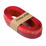 Samurai Rubber Skirt Racing Lip Carbon (Red)