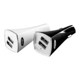 "Lycas Basic ""Twist"" Portable Car Charger (White)"