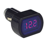 LED Digital Car Voltmeter 12V/24V Vehicle Voltage Gauge Monitor