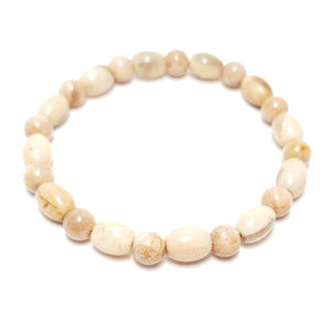 Peach Moonstone 6mm