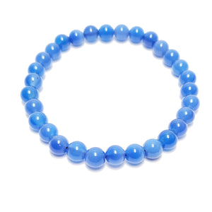 Skye Blue Agate 6mm