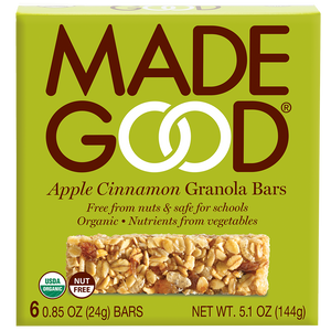 Apple Cinnamon Granola Bar
