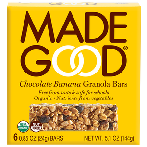 Chocolate Banana Granola Bar