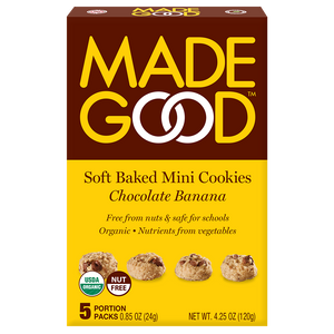 Chocolate Banana Soft Baked Mini Cookies