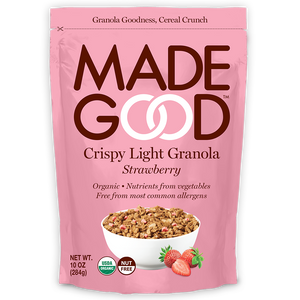 Strawberry Crispy Light Granola