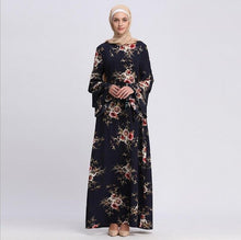 Load image into Gallery viewer, women muslim dress large size ladies Malay