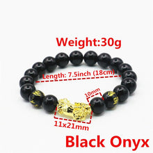 Load image into Gallery viewer, Black Onyx Brave Troops Bracelets