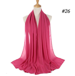 Chiffon Hijab For Women Traditional Islamic Clothing