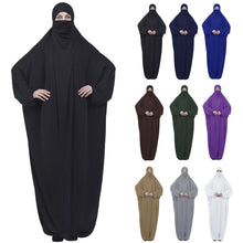 Load image into Gallery viewer, Burqa Khimar Jilbab Abaya Kaftan