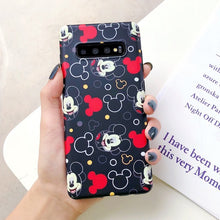Load image into Gallery viewer, Silk scarf Lanyard Cartoon Minnie Mickey Case for Samsung