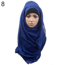 Load image into Gallery viewer, Muslim Islamic Hijab Long Scarf