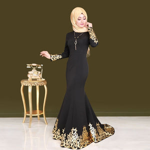 Women Middle East Gilding malay dress