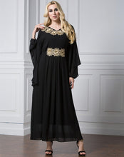 Load image into Gallery viewer, Women Muslim Maxi Dress