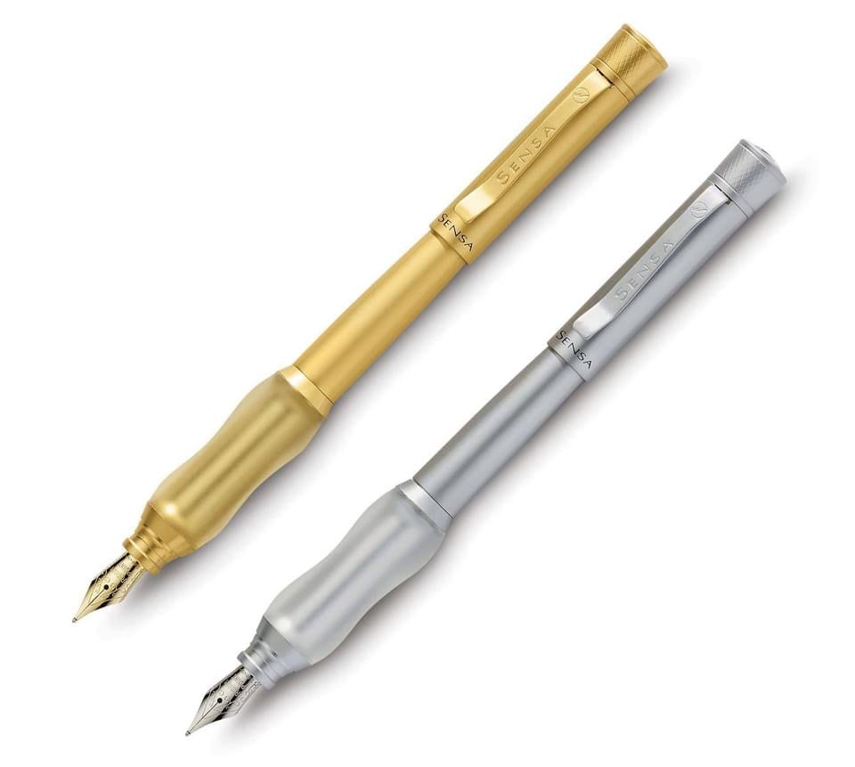 Brushed Gold | Fountain Pen | Metal Collection