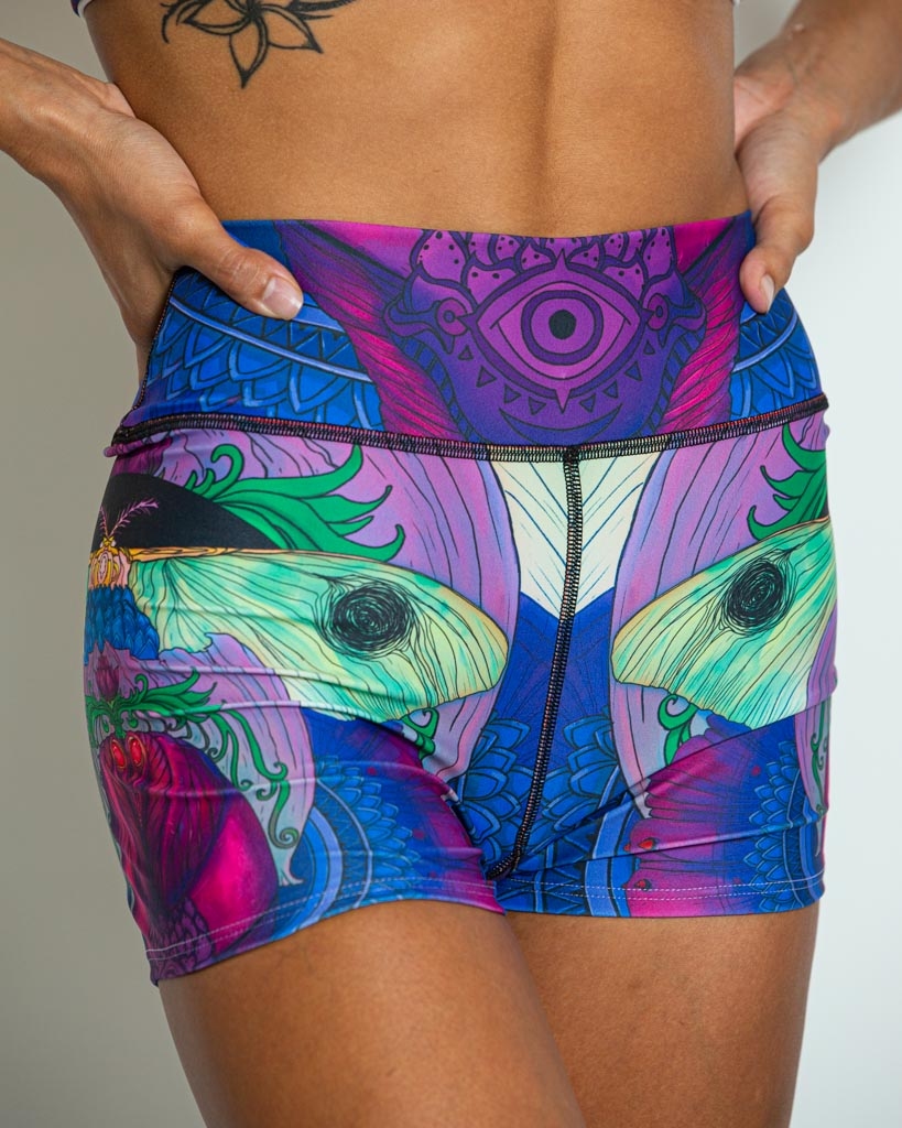 Metamorphosis Yoga Shorts