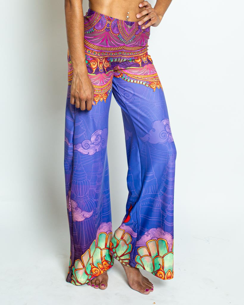 Ganesha Wide Leg Pants