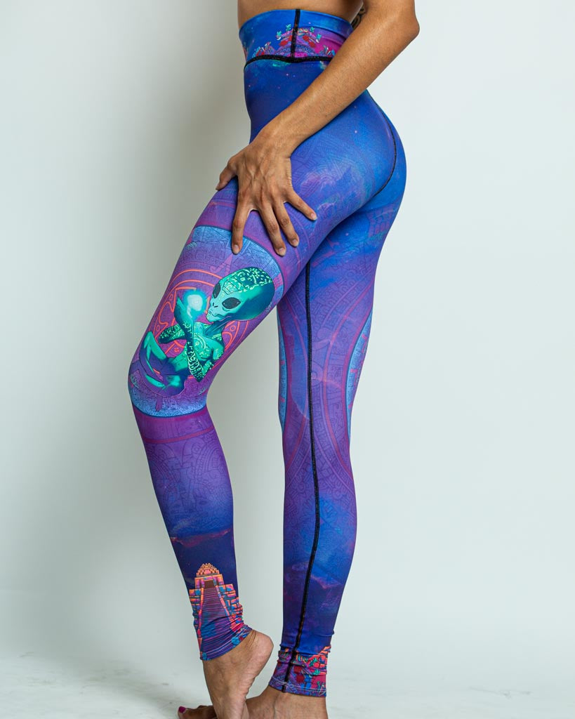 Extraterrestrial Mycologist Leggings