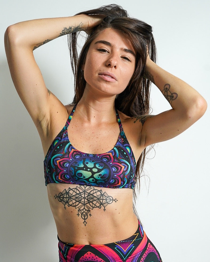 Twilight Mandala Fox Top