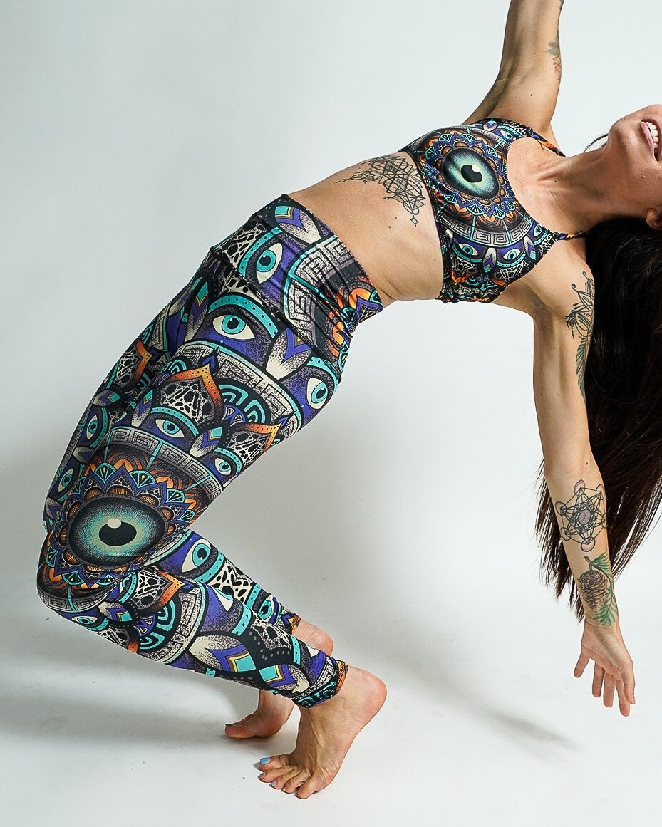 Wildcat Mandala Leggings