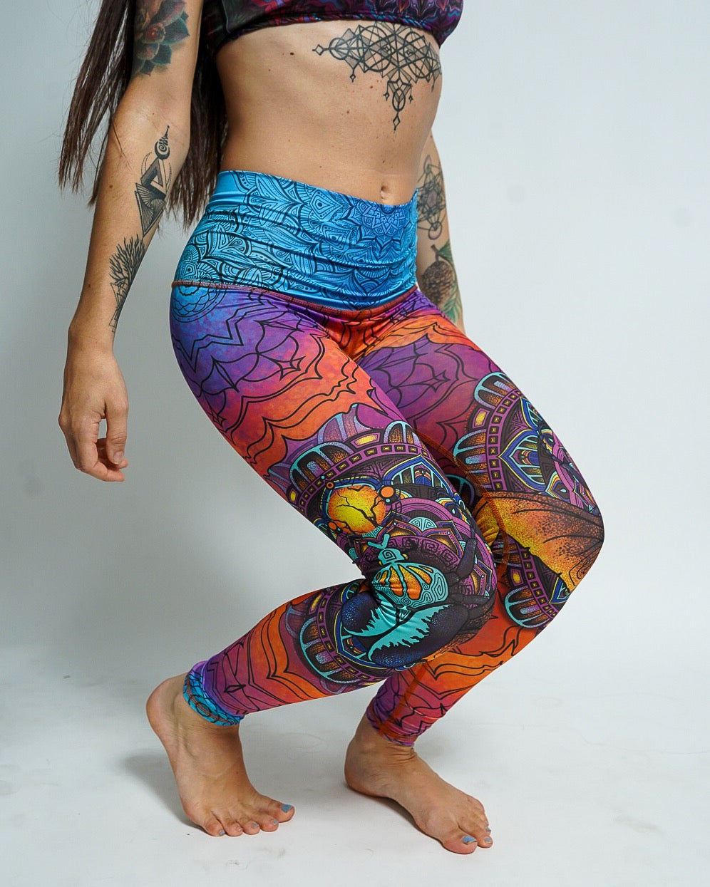 Scarab Beetle Leggings