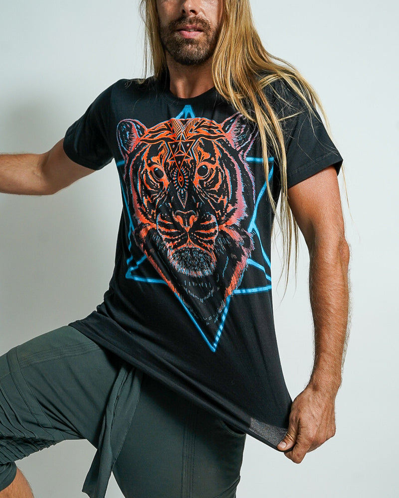 Cosmic Tiger Men's T-shirt