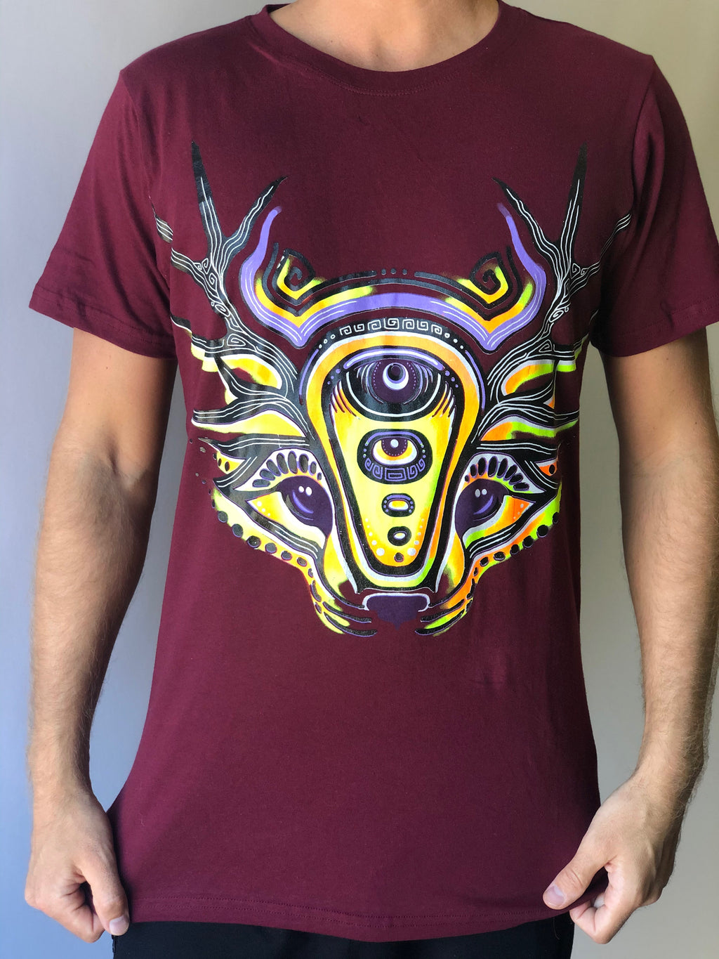 Deer Fox Men's T-shirt