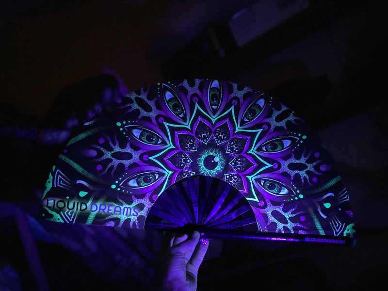 Alien Mandala Fan