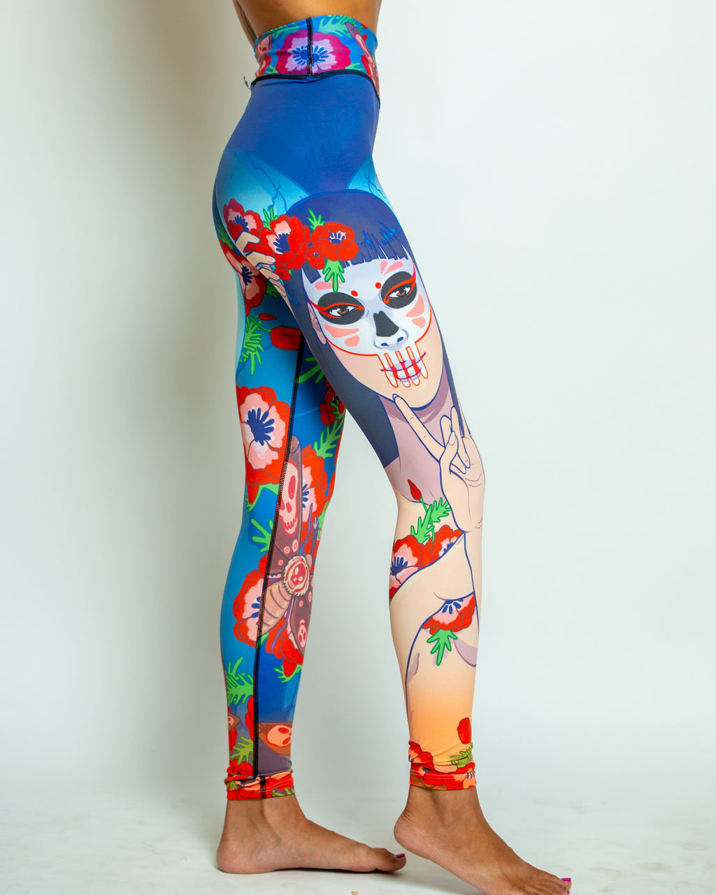 Death's Head Leggings