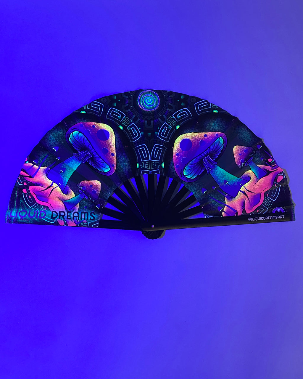 LARGE Aztec Shroom Fan