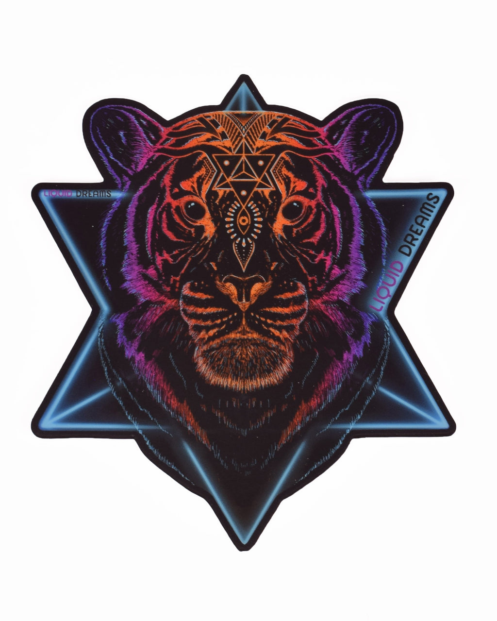 "Cosmic Tiger 5"" Sticker"