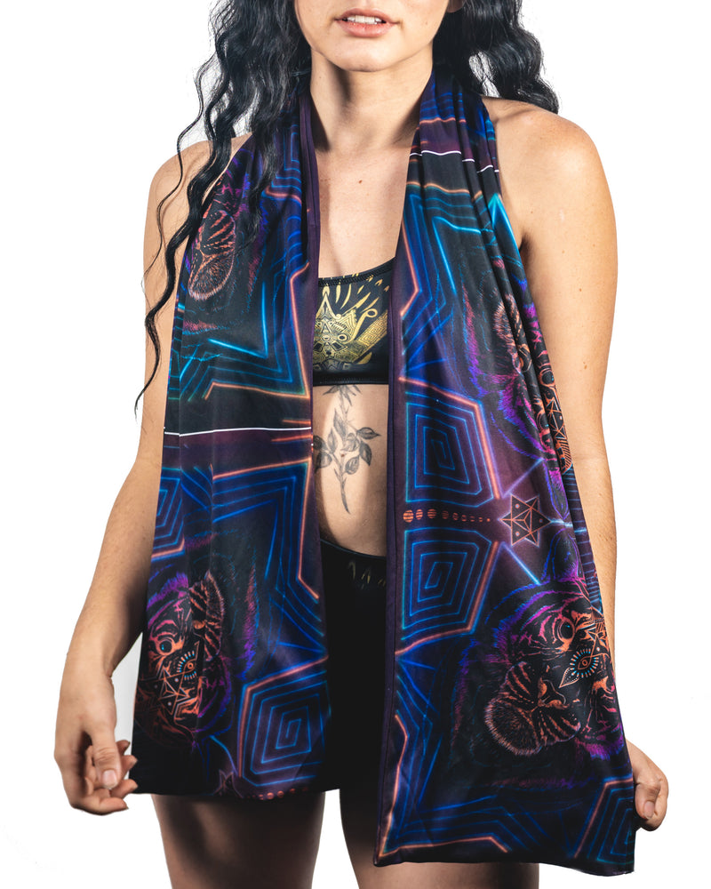 Cosmic Tiger Zero Waste Scarf