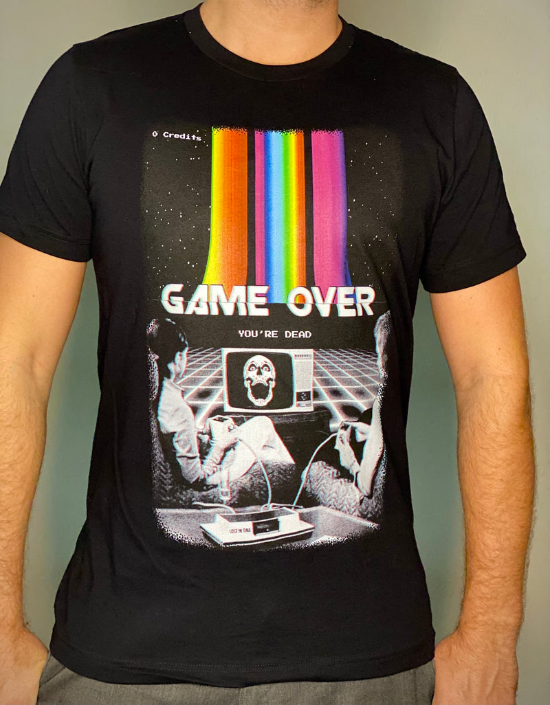 Game Over by @LostInTimeDesings T-Shirt