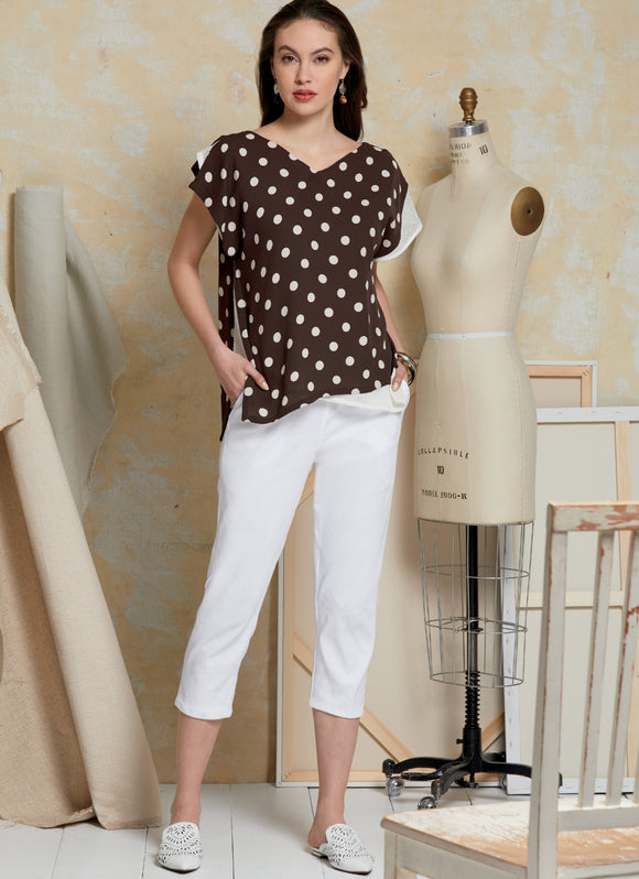 Symønster Vogue Patterns 1630 - Topp Bukse - Dame | Bilde 1