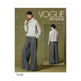 Symønster Vogue Patterns 1642 - Topp Bukse - Dame | Bilde 4