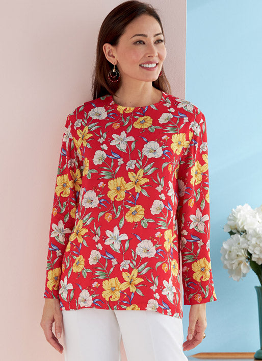 Butterick 6751 - Topper - Damer