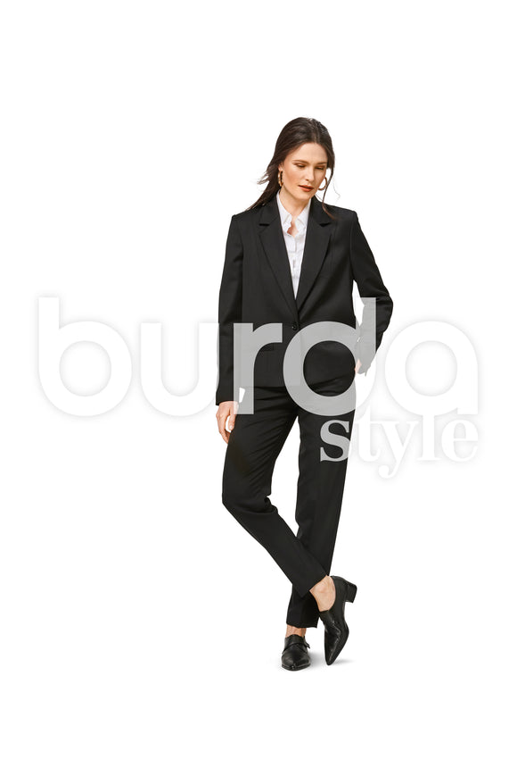 Symønster Burda 6463 - Jakke - Dame - Business Casual | Bilde 1
