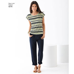 Symønster New Look 6216 - Topp Bukse - Dame - Casual | Bilde 1