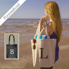 Feature-328-JC-Personalized-Tote-Bag-Single-Initial-Letter-Monogram-Natural-140248-NTL