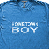 Hometown Boy T-Shirt, Heather Royal, Fitted, Home Birthplace State Love T Shirts - Item 140167-HRL