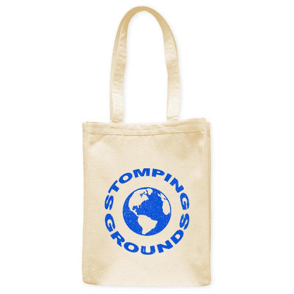 Stomping Grounds Earth Planet Astronomy Tote Bag, Natural, 10.5