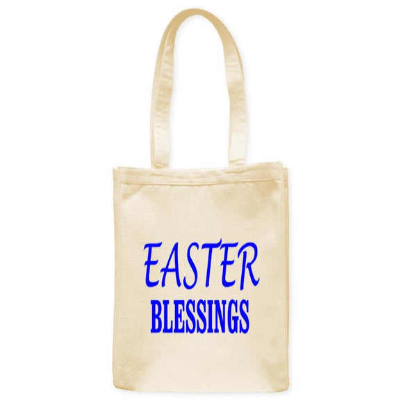 Easter Blessings Tote Bag, Natural, 10.5