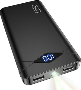 10000mAh LED Dual USB Portable Charger Powerbank