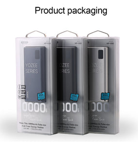 USB Mini 10000mAh Metal Portable Charger 10000 mAh Powerbank