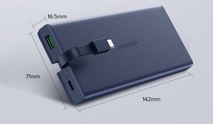 10000mAh 18W Quick Charge 3.0 Powerbank