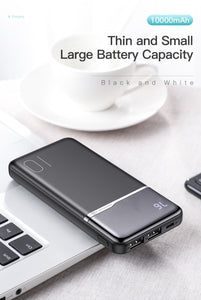 KUULAA 10000mAh Portable Charging PowerBank