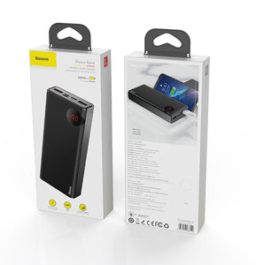 USB C PD Fast Quick Charge 3.0 20000 mAh Powerbank