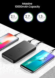 Ugreen QC3.0+PD 10000mAh Portable Wireless Charger Powerbank